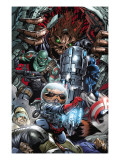 War of Kings No.3 Group: Rocket Raccoon, Drax, Major Victory and Groot Posters by Paul Pelletier