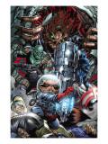 War of Kings No.3 Group: Rocket Raccoon, Drax, Major Victory and Groot Posters by Pelletier Paul