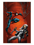 Ultimate Spider-Man No.88 Cover: Spider-Man and Silver Sable Art by Mark Bagley