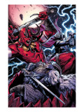 Thor No.8 Group: Odin, Surtur and Thor Prints by Marko Djurdjevic