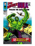 Tales to Astonish 85 Cover: Hulk Prints by Bill Everett