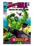 Tales to Astonish No.85 Cover: Hulk Prints by Bill Everett