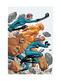 Marvel Age Fantastic Four No.8 Cover: Mr. Fantastic Prints by Makoto Natsuki