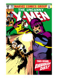 Uncanny X-Men No.142 Cover: Wolverine and Sentinel Poster by John Byrne