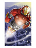 Ultimate Iron Man II 3 Cover: Iron Man Print by Ferry Pasqual