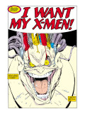 X-Men Super-Sized Annual No.12 Headshot: Mojo Poster by Arthur Adams