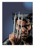 Wizard No.149 Cover: Wolverine and Logan Prints by Brian Bolland