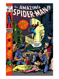 The Amazing Spider-Man 96 Cover: Spider-Man Poster by Gil Kane