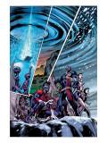 Uncanny X-Men No.458 Group: Nightcrawler Poster von Alan Davis