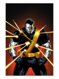 Ultimate X-Men No.56 Cover: Colossus Print
