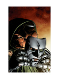 What If Dr. Doom Had Become The Thing No.1 Cover: Thing and Dr. Doom Print by Smith Paul