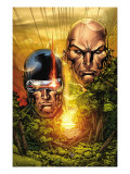 X-Men: Legacy No.215 Cover: Cyclops, Xavier and Charles Art by Ken Lashley