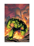 Marvel Adventures Hulk No.1 Cover: Hulk Láminas por Carlo Pagulayan
