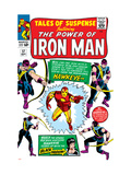 Tales Of Suspense 57 Cover: Iron Man, Hawkeye and Black Widow Posters by Don Heck