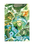 Fantastic Four: True Story 1 Cover: Invisible Woman, Thing and Mr. Fantastic Poster by Henrichon Niko