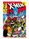 X-Men Annual 10 Cover: Warlock, Sunspot, Wolfsbane and New Mutants Poster by Arthur Adams