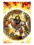 Deathlok No.3 Cover: Deathlok Prints by Brandon Peterson