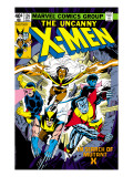 Uncanny X-Men 126 Cover: Wolverine, Colossus, Storm, Cyclops, Nightcrawler and X-Men Fighting Prints by Dave Cockrum