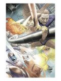 Silver Surfer: Requiem 1 Group: Silver Surfer, Galactus, Mr. Fantastic, Thing and Human Torch Art