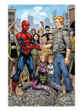 Marvel Adventures Spider-Man 34 Group: Spider-Man, Green Goblin, Flash Thompson Posters by Hamscher Cory