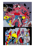 X-Statix 25 Group: Mr. Sensitive, Vivisector, X-Statix and Avengers Posters par Michael Allred