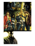 Dark Reign: New Nation 1 Group: Quake, Phobos, Druid, Yo Yo, Hellfire and Stonewall Prints by Carlo Pagulayan