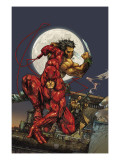 Astonishing Tales 4 Cover: Daredevil, Wolverine and Punisher Art par Kenneth Rocafort