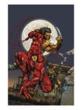 Astonishing Tales No.4 Cover: Daredevil, Wolverine and Punisher Kunst von Kenneth Rocafort
