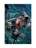 Avengers: The Initiative 24 Cover: Typhoid Mary, Task Master and Komodo Posters by Humberto Ramos