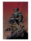 Excalibur No.9 Cover: Beast Prints by Lopresti Aaron