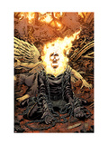 Ghost Rider 18 Cover: Ghost Rider Poster by Tony Moore