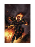 Ghost Rider 20 Cover: Ghost Rider Fighting Prints