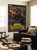 The Official Handbook Of The Marvel Universe: Marvel Knights 2005 Cover: Black Panther Wall Mural by Pat Lee