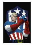 The Marvels Project No.5 Cover: Captain America Prints by MCNiven Steve