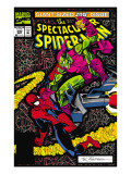 Spectacular Spider-Man 200 Cover: Spider-Man and Green Goblin Poster by Buscema Sal