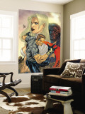 New X-Men No.155 Cover: Cyclops, Emma Frost and Beast Wall Mural by Salvador Larroca