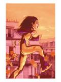 New Mutants No.9 Cover: Mantega and Sofia Konst av Chris Bachalo