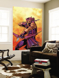 Hawkeye No.5 Cover: Hawkeye Wall Mural by Carlos Pacheco