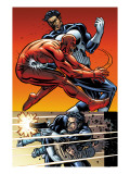 Daredevil Vs. Punisher No.5 Cover: Daredevil and Punisher Art by Dave Lapham