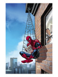 Marvel Adventures Spider-Man No.51 Cover: Spider-Man Konst av Nolan Graham