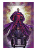 Excalibur No.4 Cover: Magneto and Professor X Poster