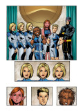 New X-Men: Academy X Yearbook Group: Stepford Cuckoos Posters par Jeanty Georges