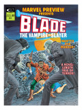 Blade The Vampire Slayer No.3 Cover: Blade Posters