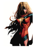 Ms. Marvel 39 Cover: Ms. Marvel Prints by Mike Deodato Jr.