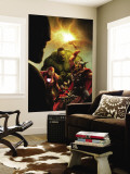New Avengers No.40 Cover: Hulk, Thor, Iron Man and Ant-Man Wall Mural