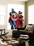 Captain America & The Falcon No.1 Cover: Captain America and Falcon Wall Mural by Sears Bart