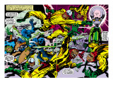 Black Panther No.2 Group: Black Panther, Princess Zanda and Hatch-22 Poster by Jack Kirby