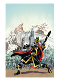 The Black Knight 1 Cover: Black Knight Prints by Ron Frenz