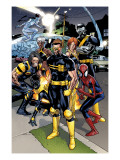 Ultimate Spider-Man No.120 Group: Spider-Man, Cyclops and Wolverine Poster by Immonen Stuart
