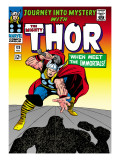Marvel Comics Retro: The Mighty Thor Comic Book Cover No.125, Journey into Mystery Prints